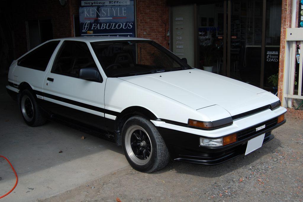トヨタ,AE86,フロントスポイラー