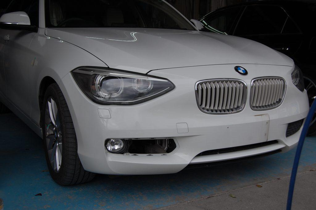 BMW バンパー修理塗装
