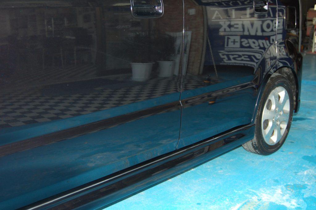 ワゴンR 側面修理