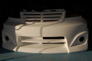 トヨタ:bB カスタムフロントバンパー 加工 グリル部加工