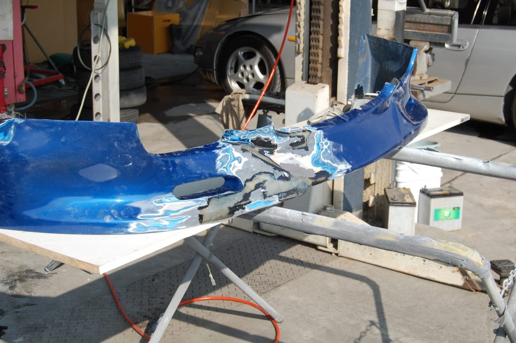 RX-7 エアロパーツ修理