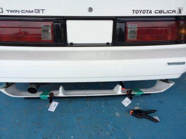 トヨタ:セリカXX エアロパーツワンオフ加工