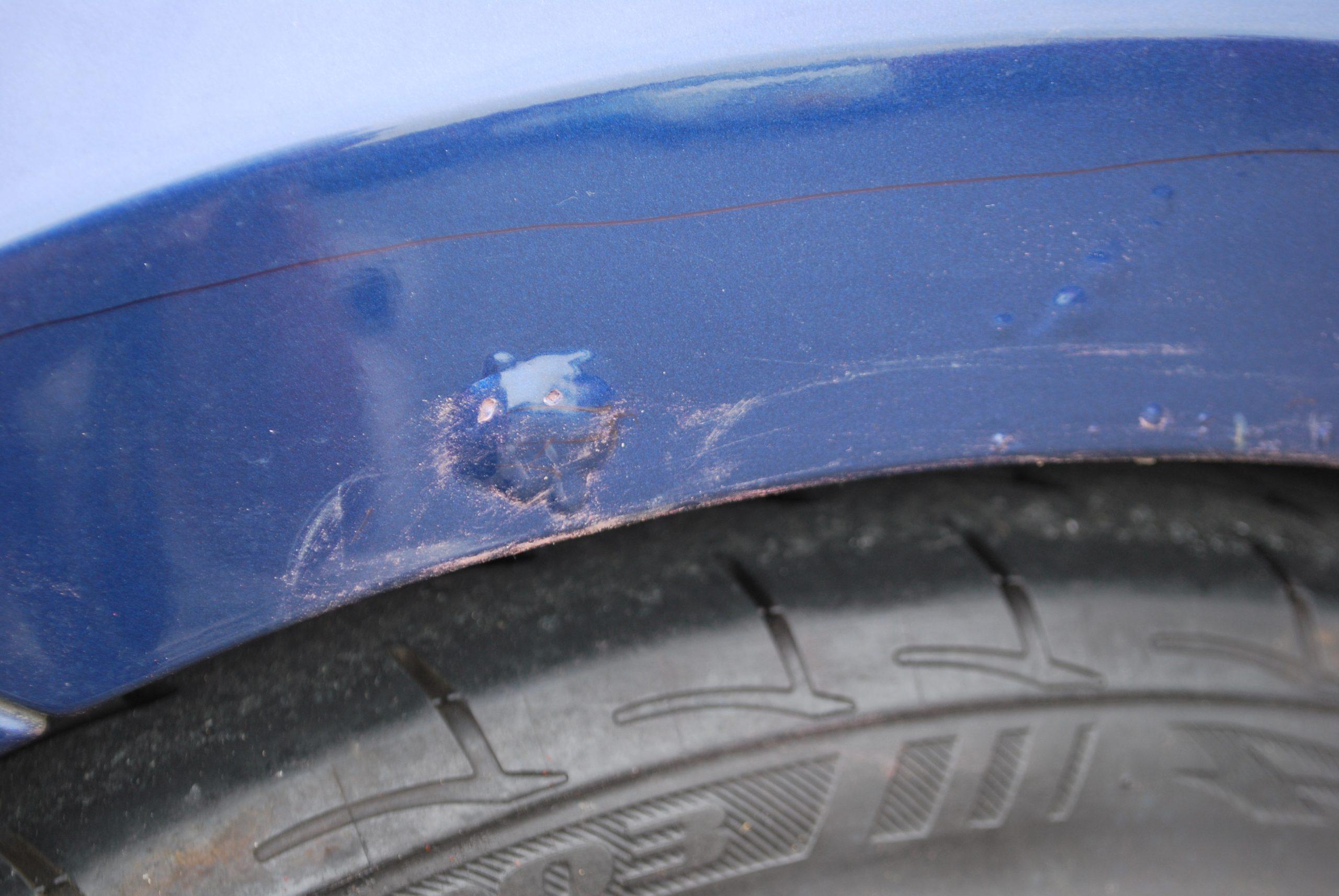 カプチーノ 錆穴修理