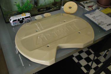 スズキ:ジムニー カスタムスペアホイールカバー塗装