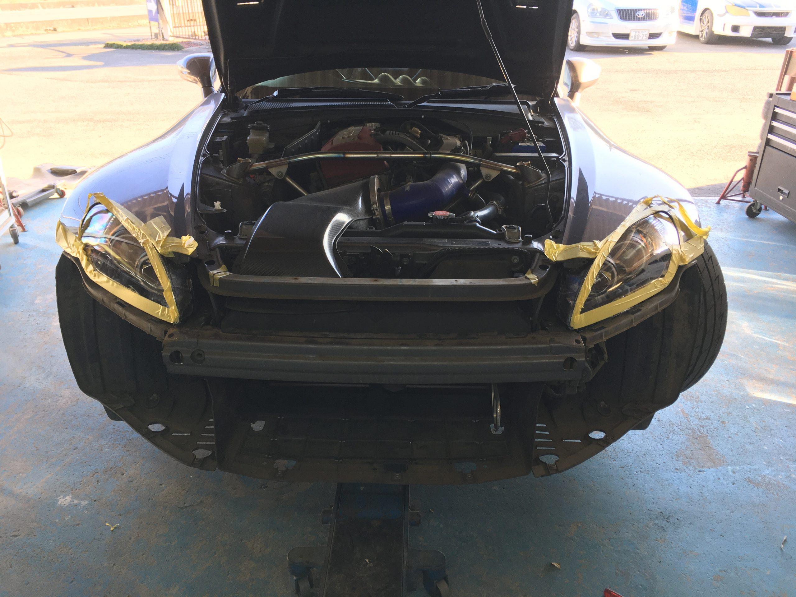 S2000 イカリングヘッドライト