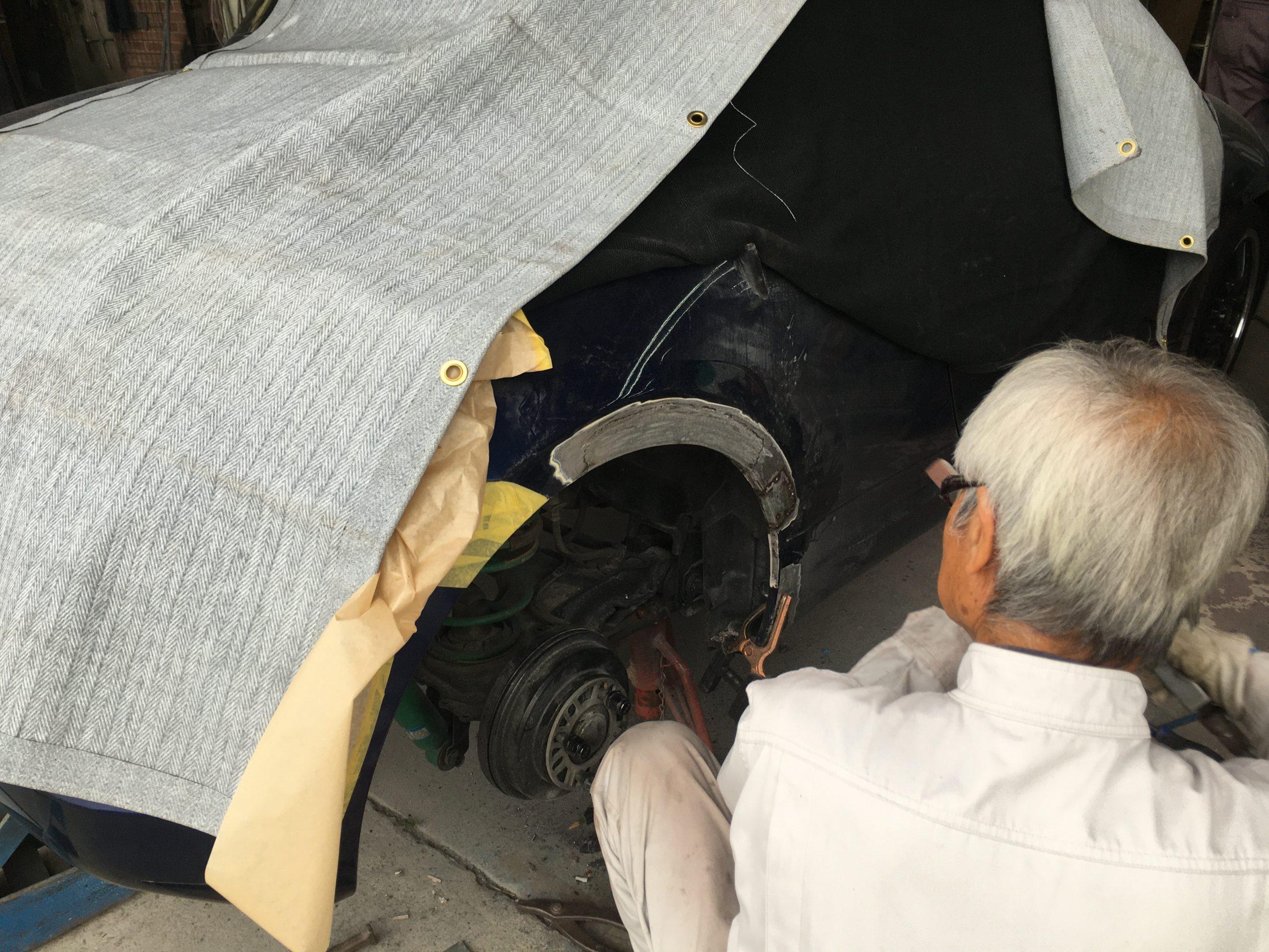 カプチーノ 錆腐食修復