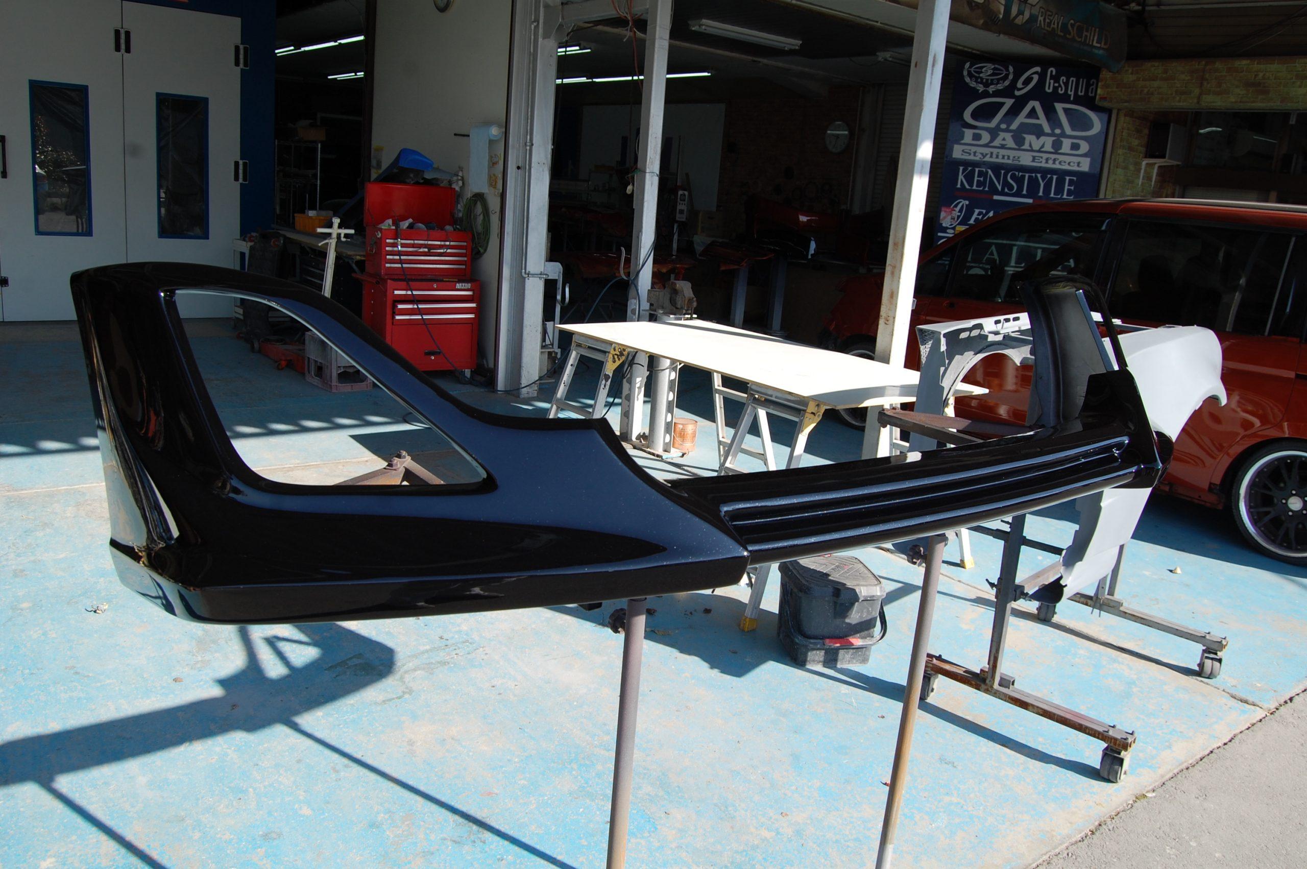 トヨタ 86 エアロパーツ修理
