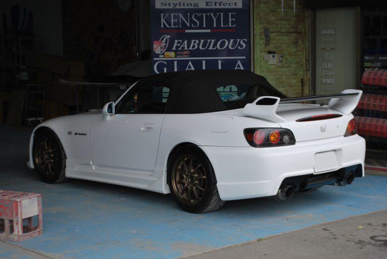 ホンダ S2000 リヤウイング