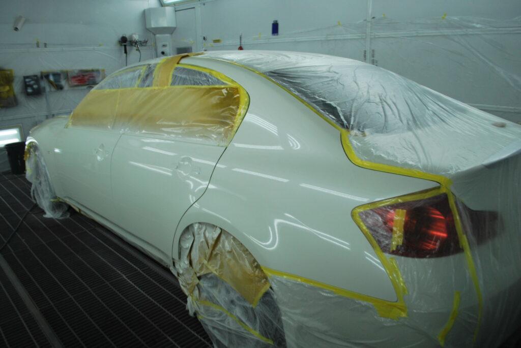 スカイライン塗装方法