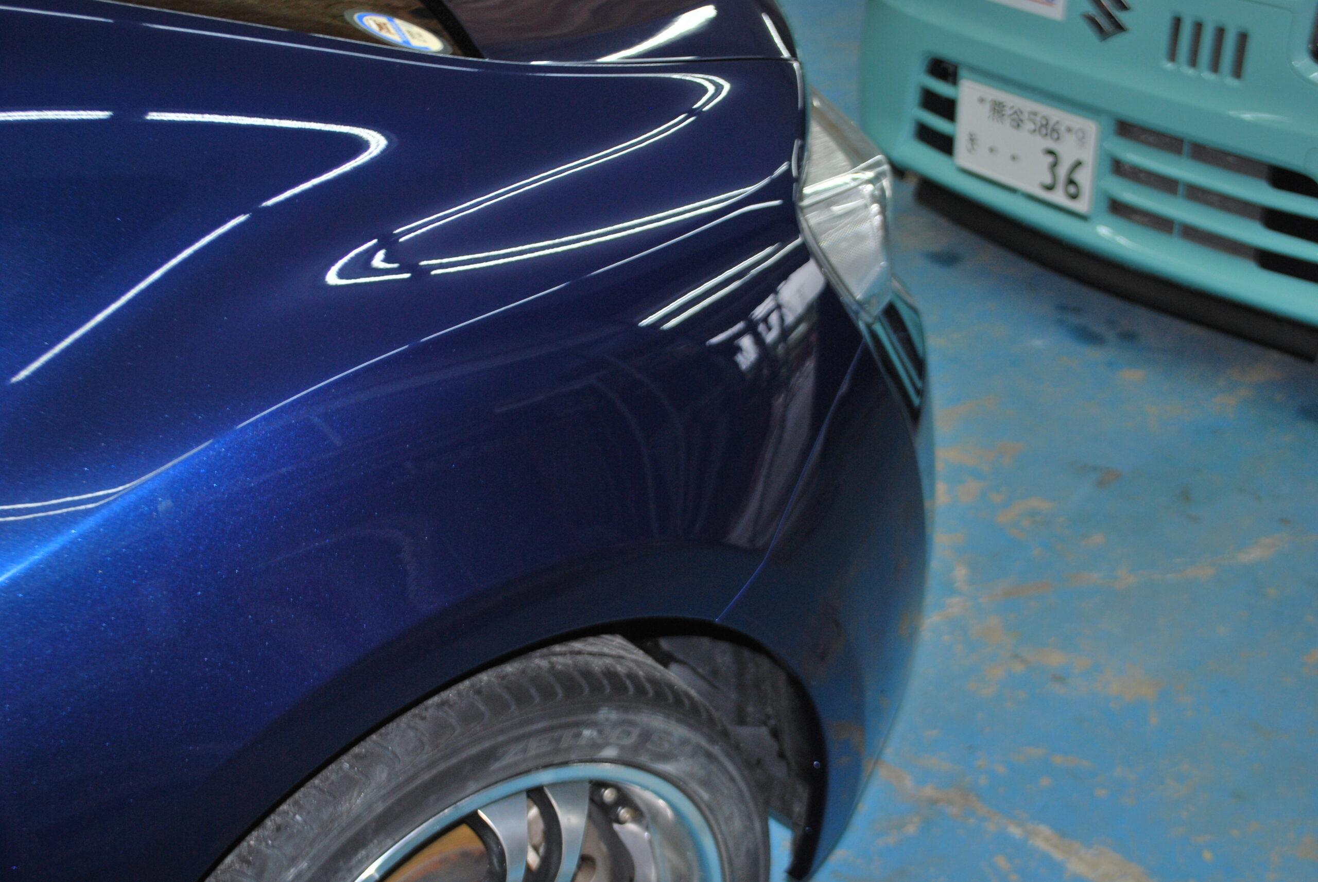 トヨタ 86 凹み鈑金塗装